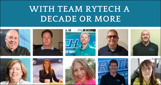 The Dream Team – With Team Rytech a Decade or More